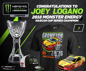 Shop for Joey Logano Monster Energy NASCAR Cup Series Champs Gear at NASCAR Shop