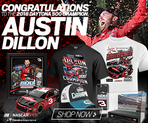 Austin Dillon 2018 Daytona 500 Champion Fan Gear and Collectibles