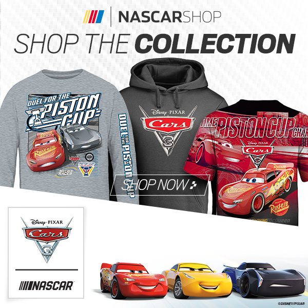 Shop for officially licensed Disney - NASCAR Cars 3 Fan Gear at Store.NASCAR.com