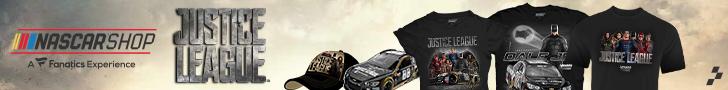 Shop the NASCAR Justice League Collection