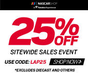 Save big this Cyber Weekend on official NASCAR fan gear and collectibles from Store.NASCAR.com