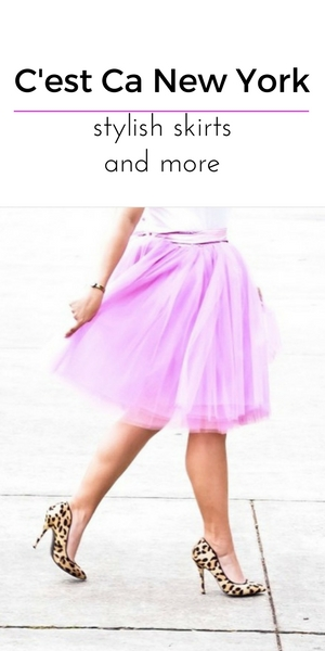 claris tulle skirt in lilac