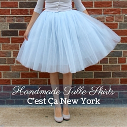 Tulle Skirts by cestcany.com