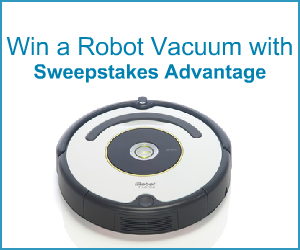 Win a  Robot Vacuum!