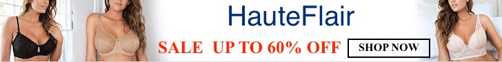 Shop Lingerie up to 60% Off at HauteFlair