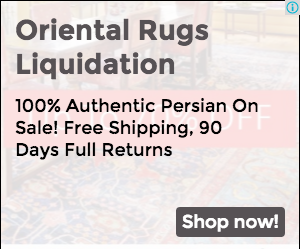 Persian Rugs Liquidation Sale