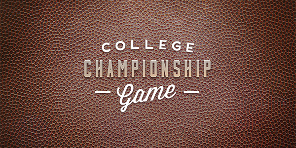 College Football Championship Tickets
