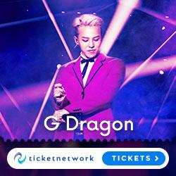 G Dragon Tickets