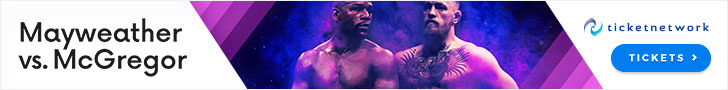 Mayweather vs McGregor Tickets