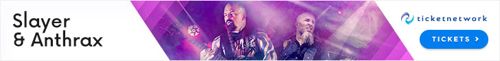 Slayer & Anthrax Tickets