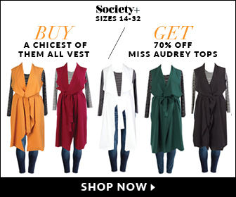 Buy Vest & Get 70% off Audrey Tops!