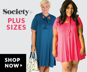 society Plus size Fashion on SALE