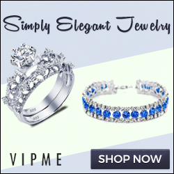 Simply Elegant Jewelry at Simply Affordable Prices at VIPme.com