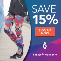 exclusive sales and promotions on running gear for women