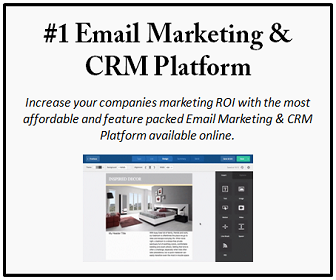 Increase your ROI with the #1 Email Marketing & CRM Platform.