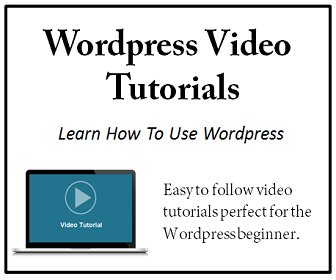 Learn Wordpress with these easy to follow video tutorials.