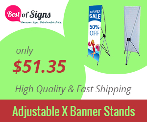 Custom Banner Stands – Affordable Stands for Exhibitions and more