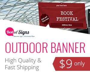 Want to Get Noticed? Use Custom Outdoor Banners!