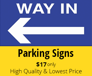 Customize Your Parking Sign Designs