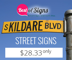 Get highly durable and affordable street signs from BestofSigns to ensure good value for your money!