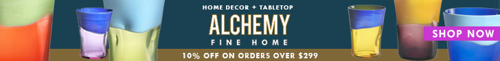 Alchemy Fine Home - Save 10% Off on Orders over $299+  Use code: TAKE10