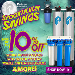 Take 10% Off Whole House Water Systems! Plus 20% Off Drinking and Shower Filters at Pelican Water. No code needed.