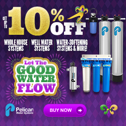 10% Whole House Water Systems + 20% Off Drinking and Shower Filters