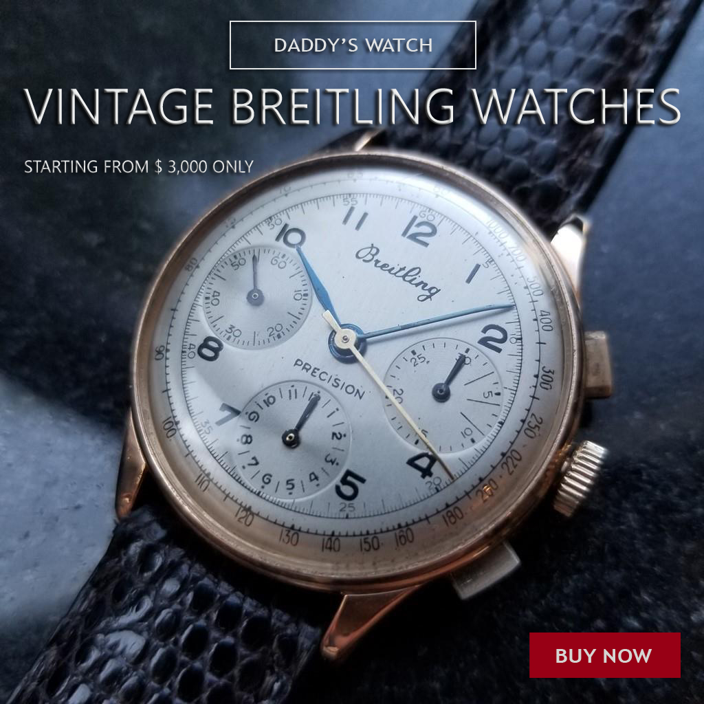 Vintage Breitling Watches