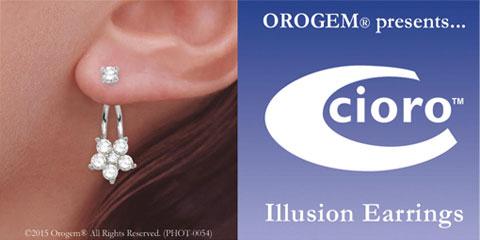 Cioro Illusion Earrings
