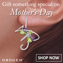 Mother's Day Orogem Earspirals Earrings