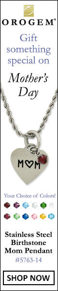 Mother's Day Orogem Pendant