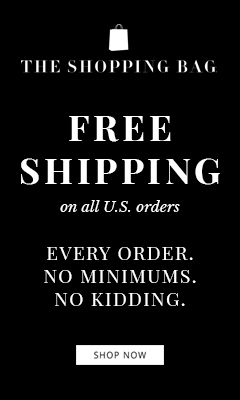 The Shopping Bag - Free U.S. Shipping on All Orders