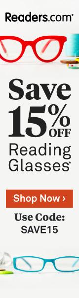 15% off at Readers.com