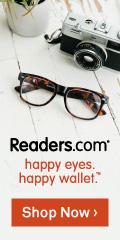 Reading Glasses for Men-Readers.com Logo