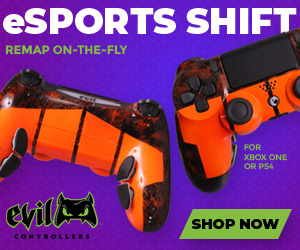 Own one of these badass gaming controllers from EvilControllers.com!