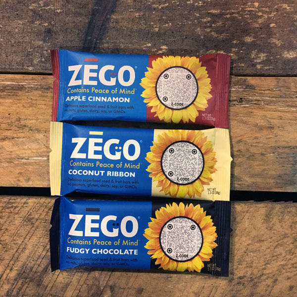 ZEGO has 3 delicious flavors