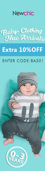 Extra 10% Off Baby's Clothes New Arrival(0-3Years) - Coupon code:BA301