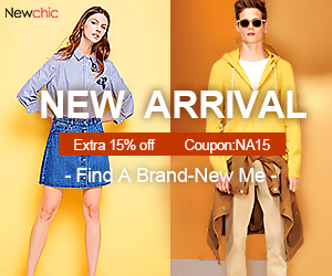 15% Off New Arrival (Coupon Code:NA15)
