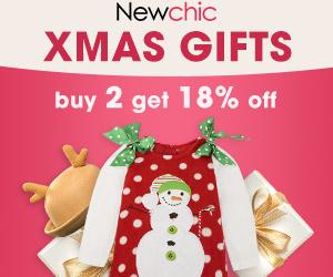 Hot Christmas Gifts Sale: 18% OFF 2pcs,25% OFF 3pcs,30% OFF 4pcs; End Date:Dec 25, 2018