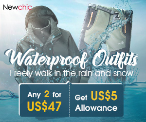 Mens Waterproof Outfits 2 For $47; Expire on 03/31/2019