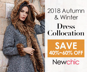 NewChic Up to 60% Off 2018 Autumn & Winter Dress Collocation