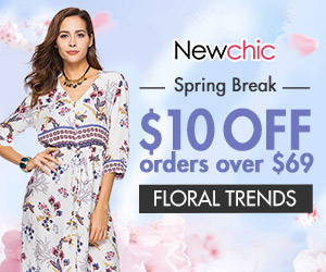 $10 Off $69 For Women Printed Style Clothes; Expire on 4/7/2019