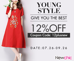 coupon code:12plusnew; end date:26th,Sep,2016;Up to 12% Coupon OFF Collection Plus Size Women Clothing