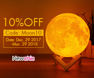 Coupon code:Moon10