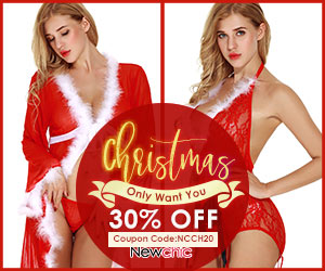30% Off Sexy Lingerie; Coupon code:NCCH20; Valid until: Jan 30, 2019