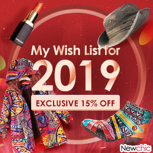 15% Off Fashion 2019 Wishlist; Get the exclusive code in the landing page; Expire on Jan 15th, 2019