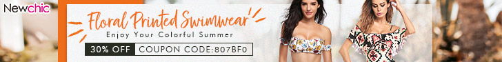 Get 30% Off Women's Swimwear;  Coupon Code:807bf0