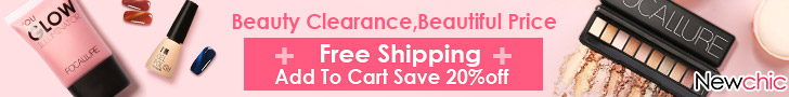 Free Shipping + 20% Off Beauty Products