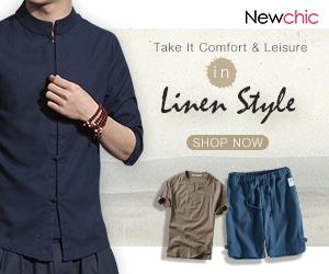Up to 49% OFF Men Linen Clothes