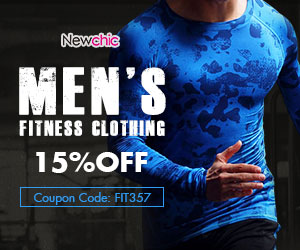 NewChic Coupon Code: FIT357, Expired Date:6, Aug. 2017